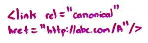 Когда использовать атрибут rel=canonical